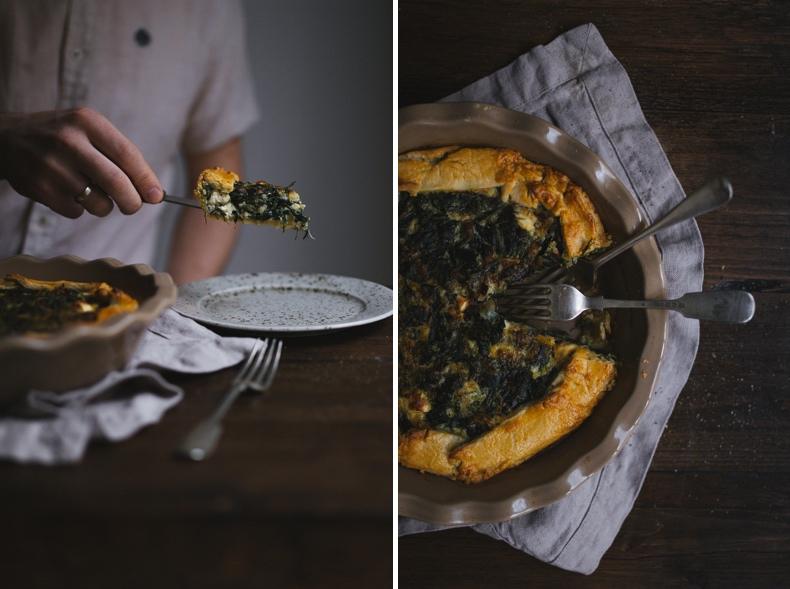 Spinach-feta-pie
