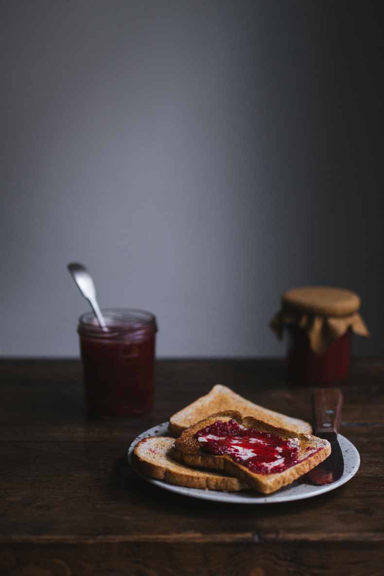 Raspberry & Ginger Jam by Tanya Balyanitsa (more recipes on Honeytanie.com)